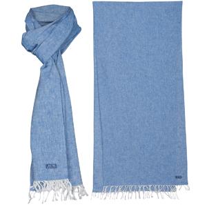 LINNEN SJAAL JACQUELINE OUTREMER Outremer linnen sjaal Stijlvol voor de dag komen, doe je met deze indigo linnen sjaal uit de Batela collectie. Deze sjaal is vervaardigd uit 55% linnen en 45% katoen