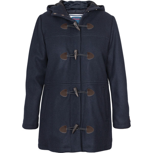 DAMES PEACOAT HOUTJE-TOUWTJE MARINE