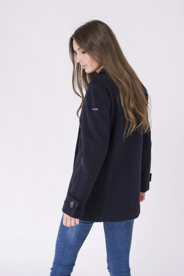 NAVY DOUBLE BRESTED PEACOAT