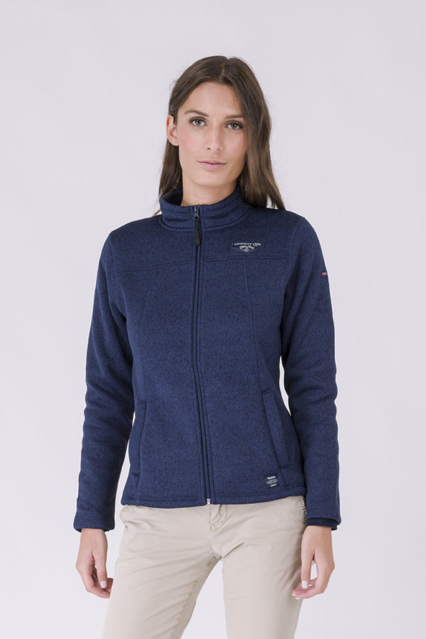 NAVY DAMES FLEECE VEST
