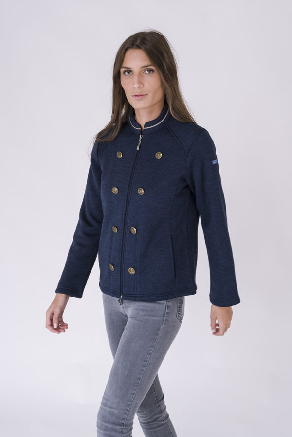 NAVY DAMES ADMIRAAL FLEECE VEST