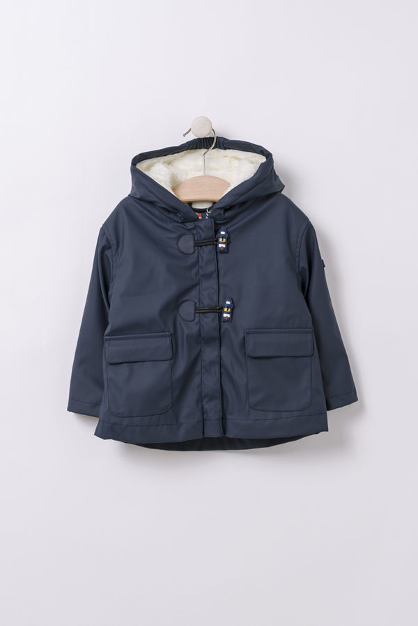 HULST NAVY BABY WINTER REGENJAS