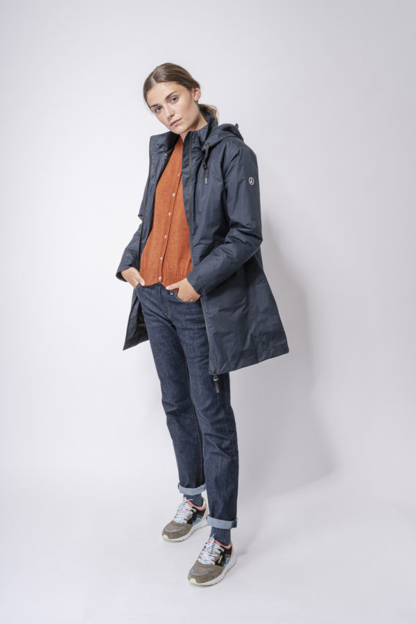 BOYE NAVY DAMES WINTER REGENJAS