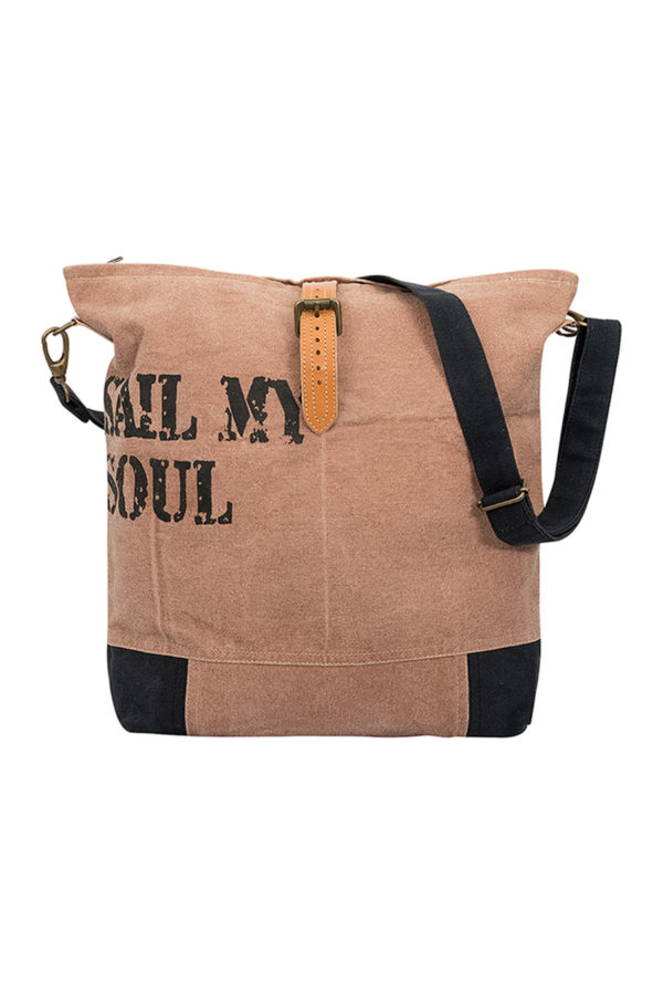 CANVAS TAS SAIL MY SOUL BRIQUE